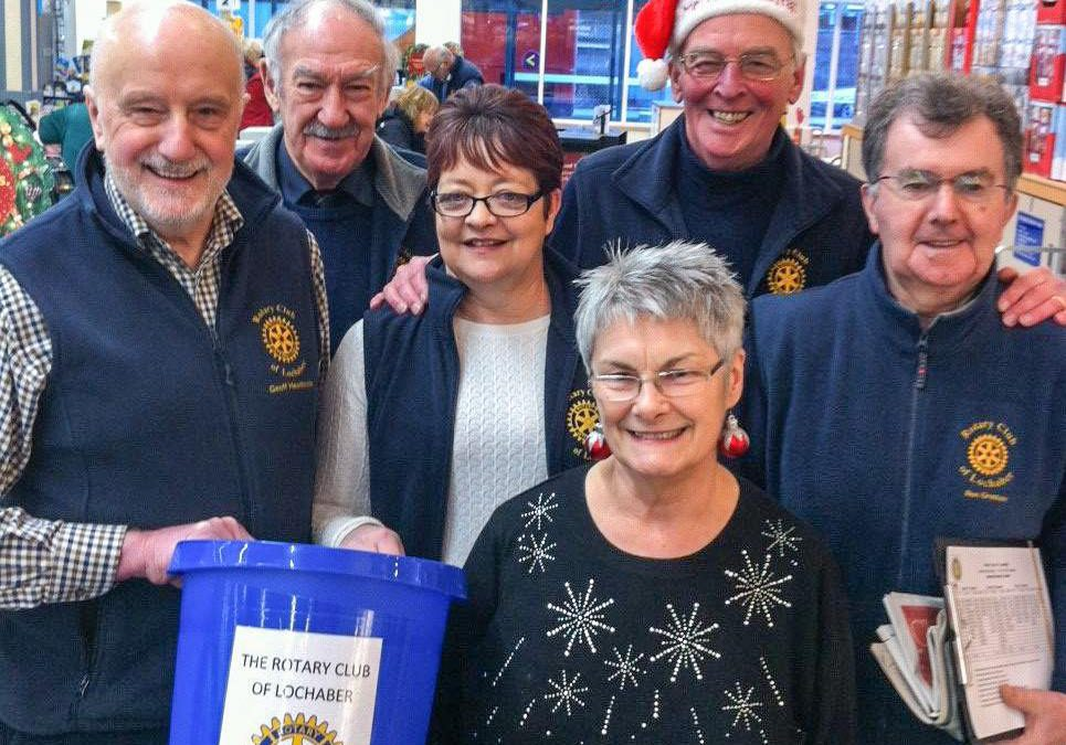 Lochaber Rotary bags £6,000 for good causes-Jan 6th 2017