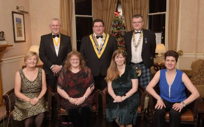 LOCHABER ROTARY CLUB'S ANNUAL DINNER  December 3rd 2017