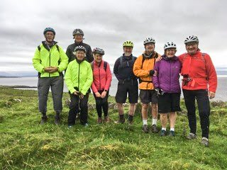 Ron's Cycle Trip to Lismore – a Report from David Robertson. Sept 23rd 2017