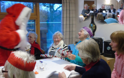 ROTARY CLUB CHRISTMAS CHOIR VISITS CARE HOMES December 14th 2017