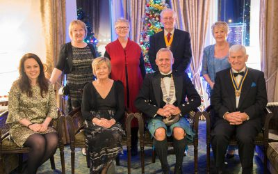 KATE FORBES MSP GUESTS AT LOCHABER ROTARY CLUB ANNUAL CHARTER DINNER