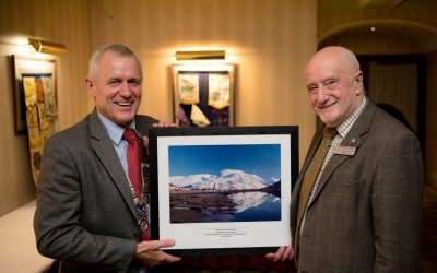 ROTARY CLUB SAYS FAREWELL TO SECRETARY GEOFF