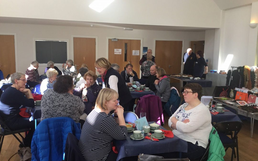 ROTARY POP-UP CAFÉ HITS THE SPOT  CAFÉ & CRAFT FAYRE PROVES A WINNING COMBINATION