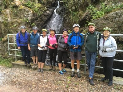 Ron's Walks and Bike Runs – a report from David Robertson – Sept 3rd 2017