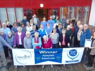 ABBEYFIELD BALLACHULISH CARE HOME 'BEST IN SCOTLAND' December 14th 2017
