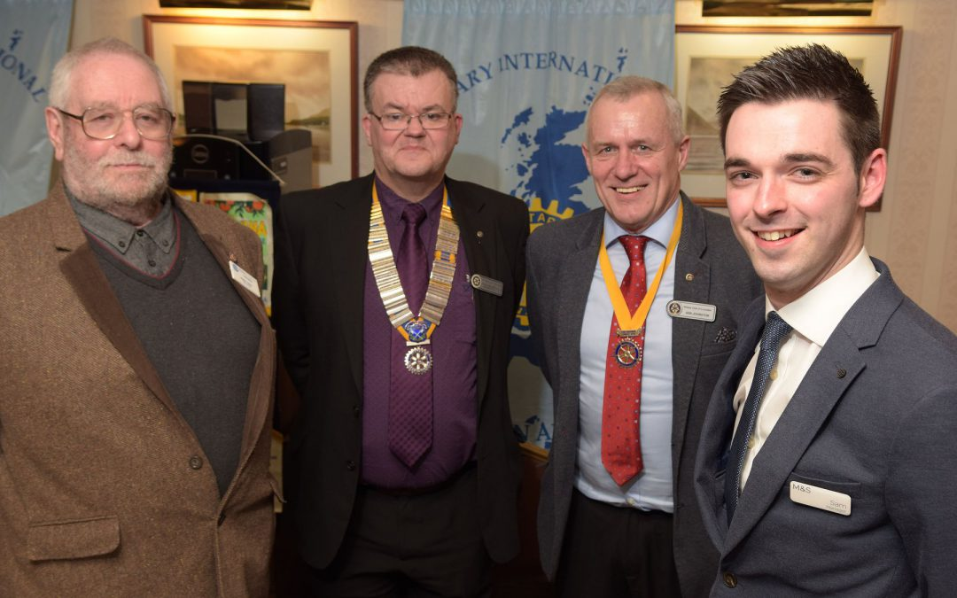 ROTARY CLUB HEARS ABOUT NEW M&S FOOD HALL IN FORT WILLIAM Feb 15th 2018