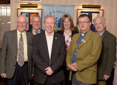 District Governor Gary visits Fort William Aug 23rd 2017