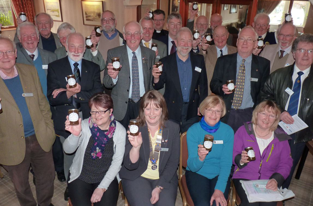 Lochaber Rotarians continue the fight to rid the world of polio March 29th 2017