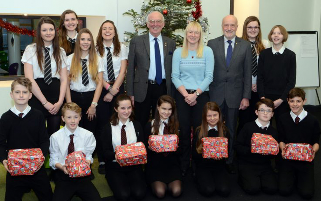 Lochaber High School and Rotarians deliver Christmas cheer- Dec 21st 2016