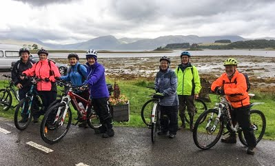 A report from David Robertson on Ron's Cycle – Aug 19th 2017