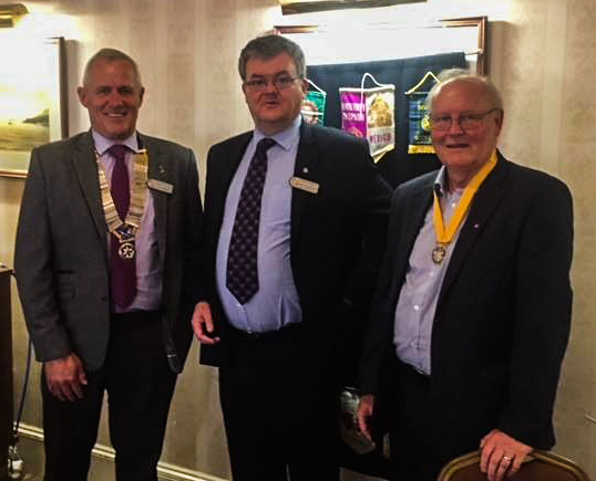 IAIN BECOMES THE CLUB'S 69TH PRESIDENT